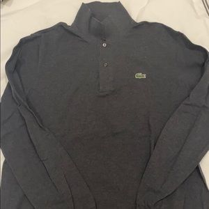Men's Lacoste Polo Long Sleeve